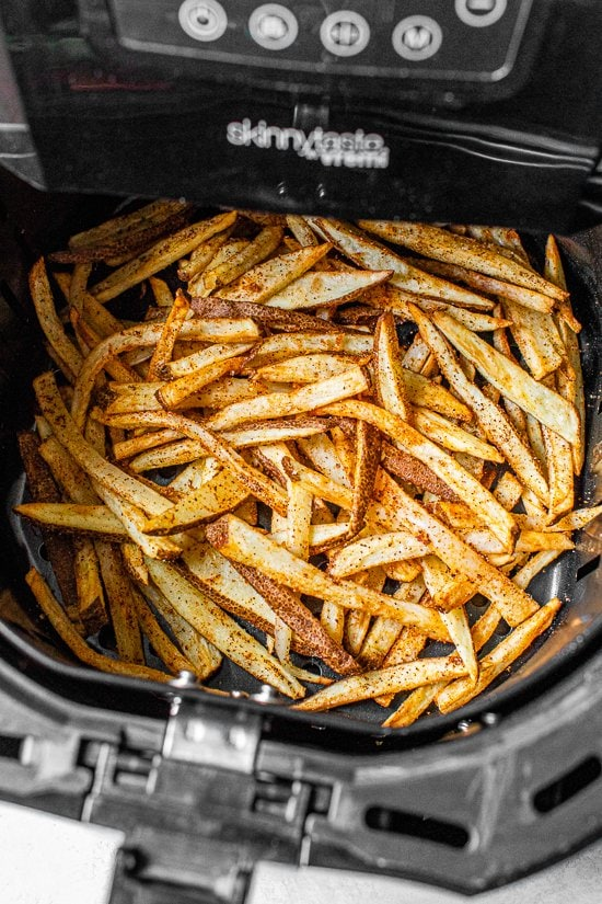 Air Fryer Nacho Fries