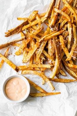 Air Fryer Nacho Fries
