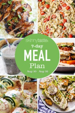 7 Day Healthy Meal Plan collage