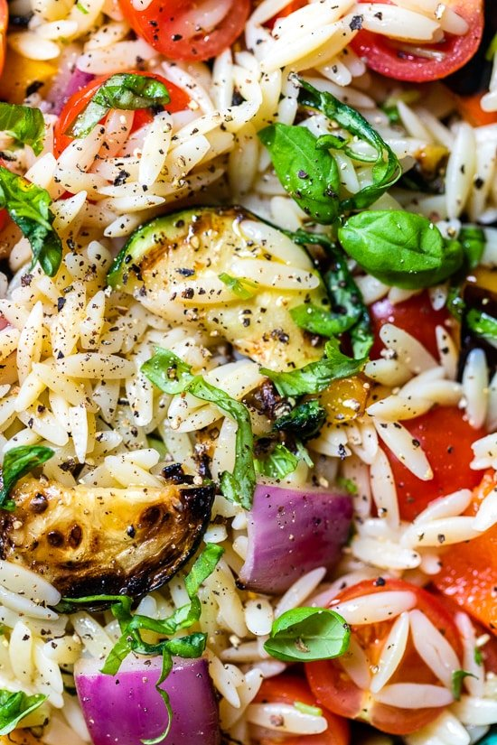 Farmer's Market Orzo Salad