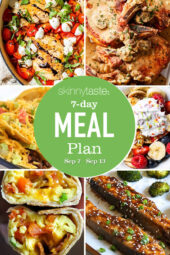 7 Day Healthy Meal Plan (Sept 7-13)