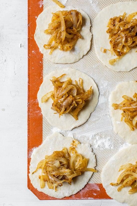 Caramelized Onion Empanadas