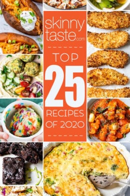 Top 25 Most Popular Skinnytaste Recipes of 2020