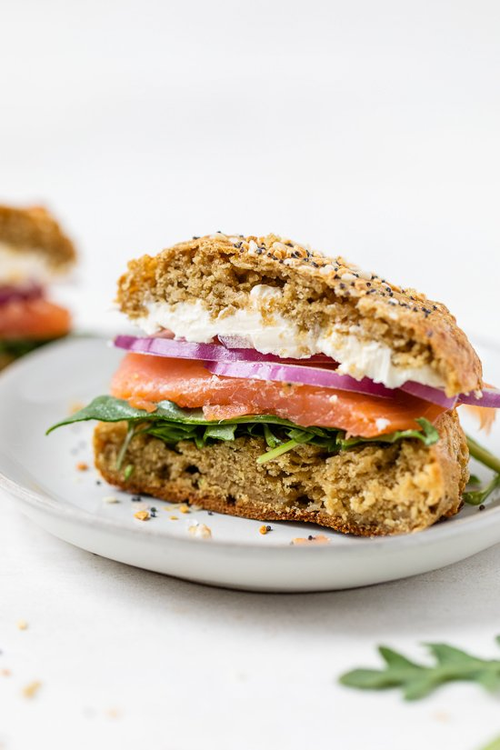 High Protein Bread (Oat Sandwich Rolls)