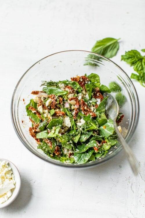 spinach feta filling