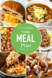 7 Day Healthy Meal Plan (Feb 1-7)