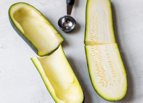 how to make zucchini skins