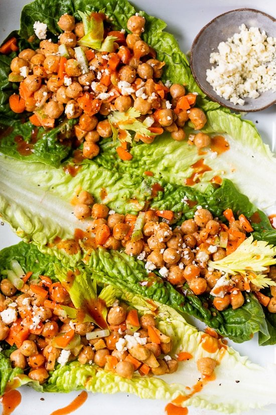 Buffalo Chickpea Salad
