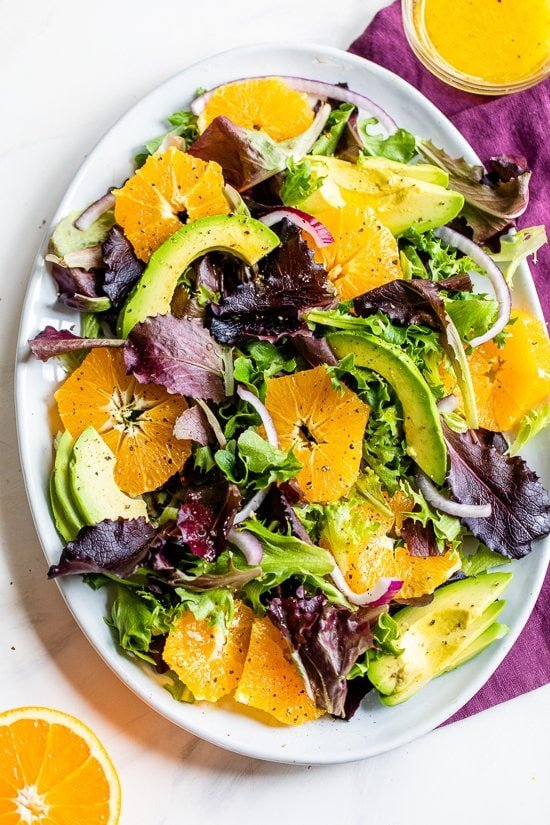 Naval Orange Salad with Avocado