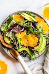 Naval Orange Salad with Avocado
