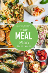 7 Day Healthy Meal Plan (March 22-28)