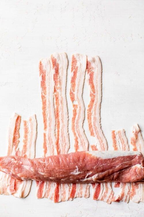 bacon and pork tenderloin
