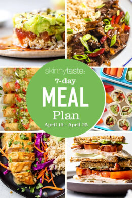 meal plan for weight loss