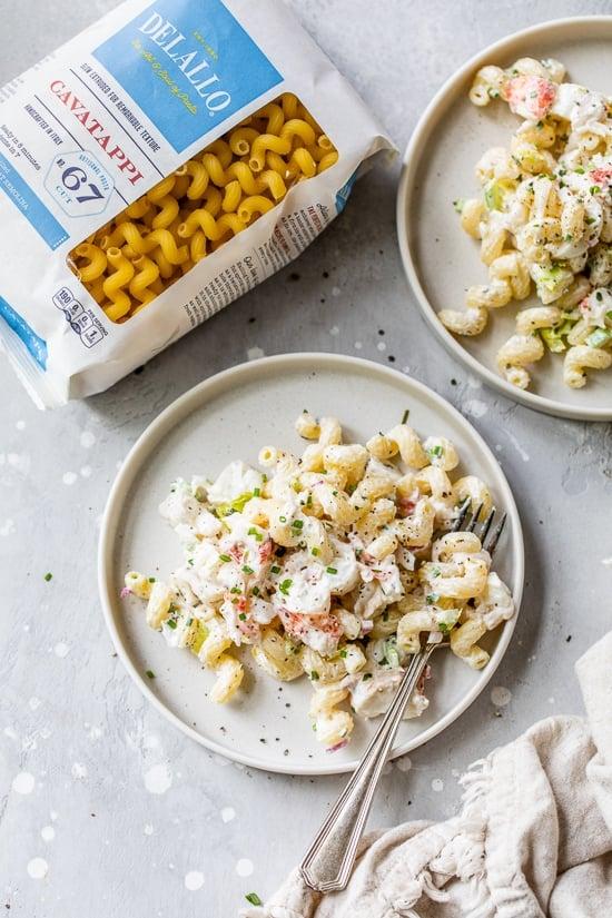 Lobster Roll Pasta Salad