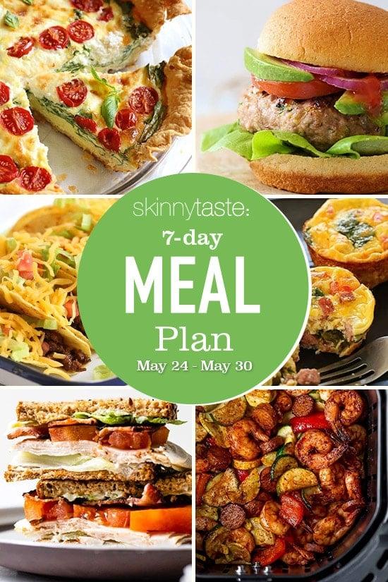 Weekly Meal Plan 278 May 24 May 30