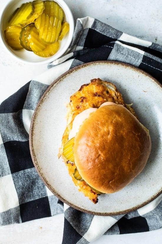 Air Fried Spicy Chicken Sandwich
