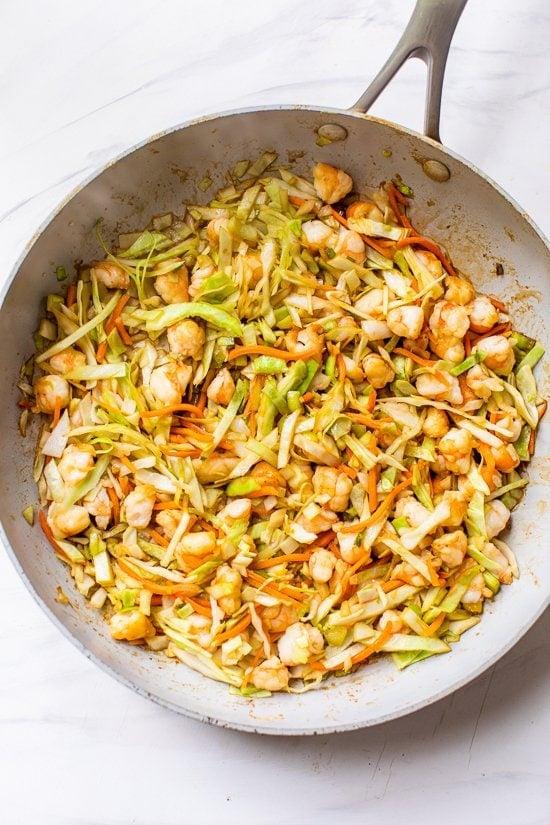 shrimp filling for egg roll