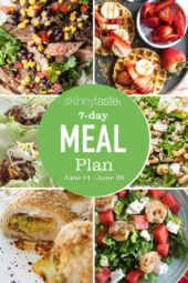 7 Day Healthy Meal Plan (June 14-20)