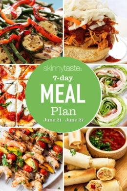 Skinnytaste Meal Plan