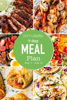 7 Day Healthy Meal Plan (July 5-11)