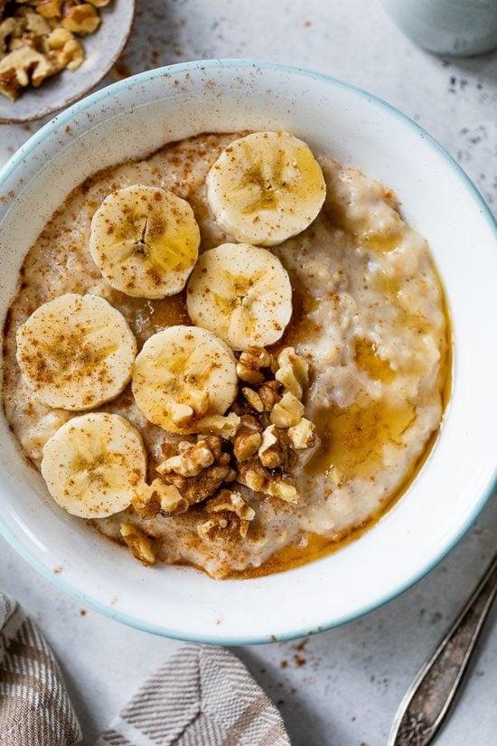 Banana Nut Protein Oatmeal