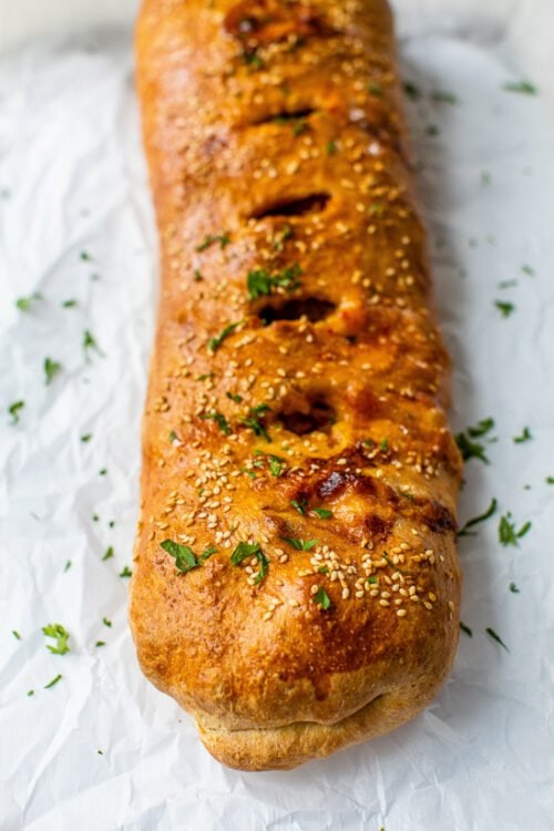 Sausage and Pepper Bread