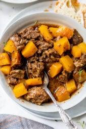 Beef Stew with Pumpkin