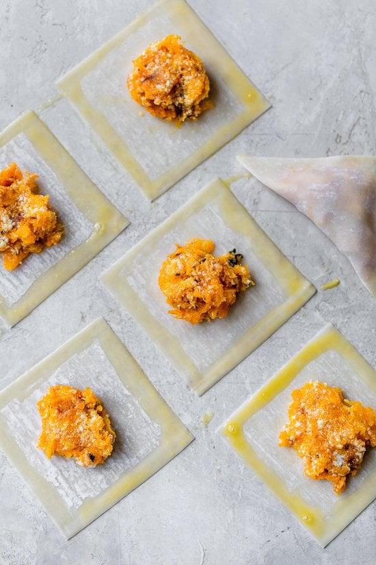 how to make butternut squash raviolis